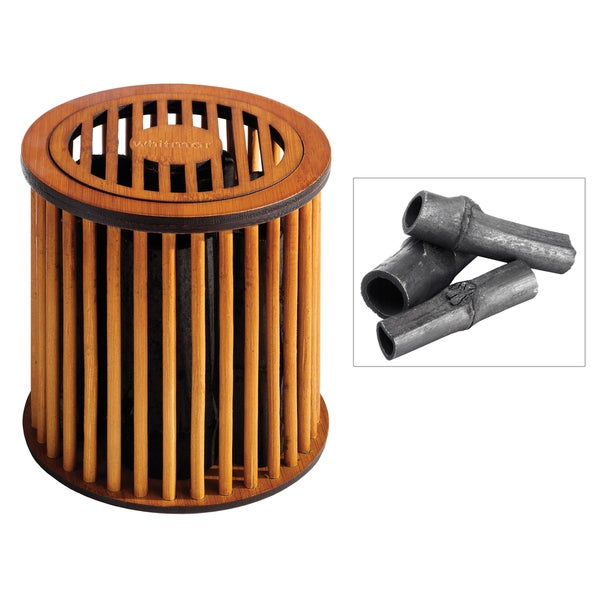 Whitmor 6697-2778 Natural Bamboo Odor Fresh