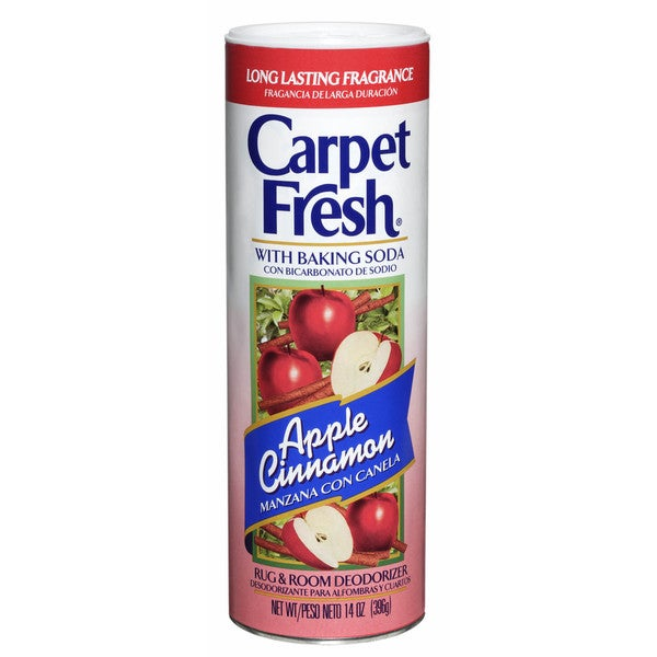 Carpet Fresh 27710 14 Oz Apple Cinnamon Rug & Room Deodorizer