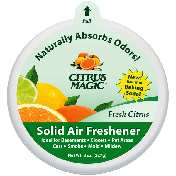 Trewax 616471279 8 Oz Citrus Magic Fresh Citrus Scented Air Freshener