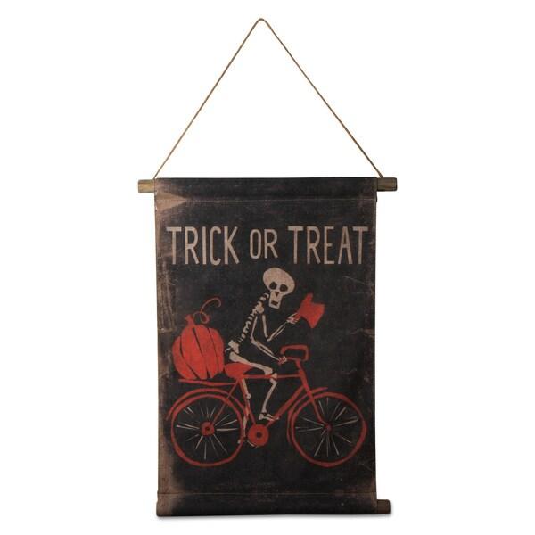 TAG Halloween Trick Or Treat Mr Bonez Scroll