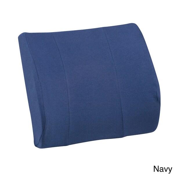 DMI RELAX-A-BAC Lumbar Cushion in Burgundy (As Is Item)