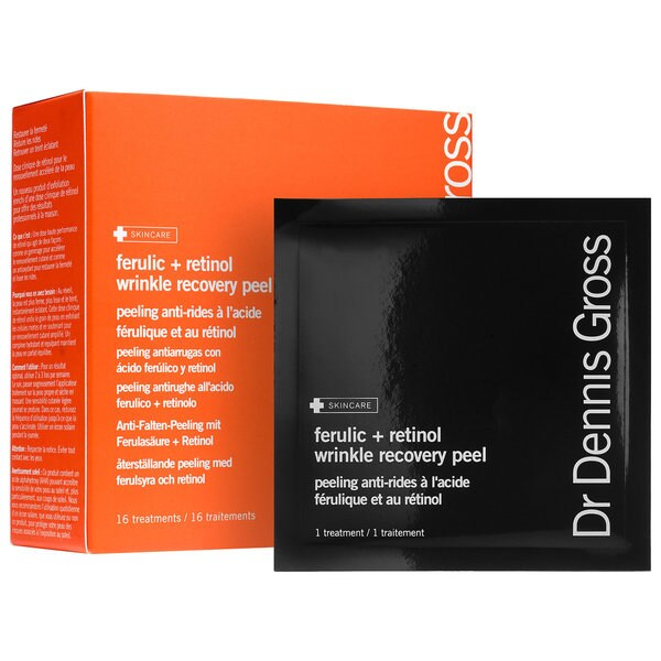 Dr Dennis Gross Ferulic + Retinol Wrinkle Recovery Peel (16 Treatments)