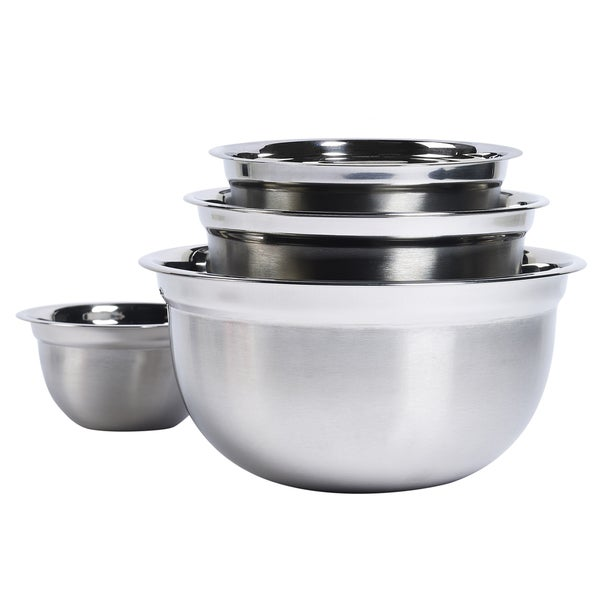 Stainless Steel Mixing Bowl Set (Pack of 4) 21382967