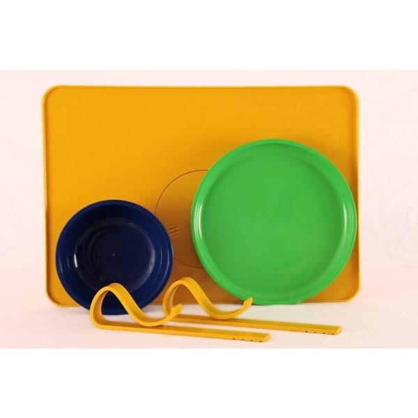 Kranky Pantz Toddler Lock-it-Down Diner, Yellow 21383153