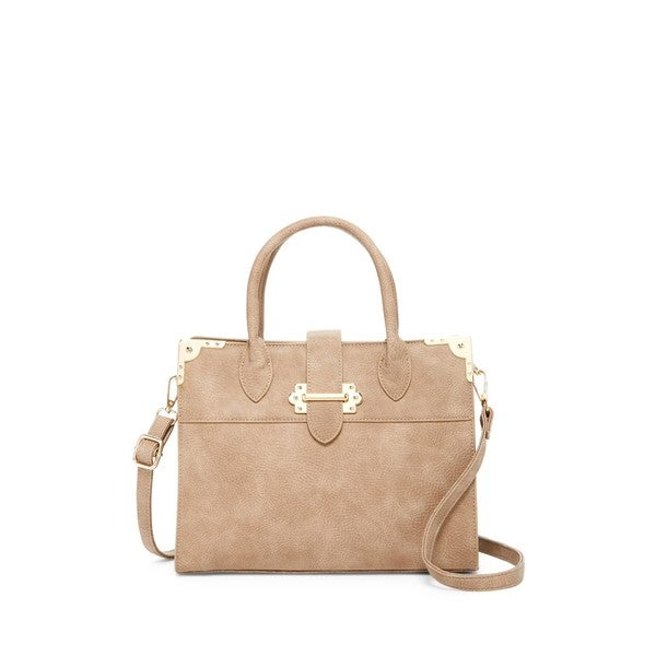 Pink Haley Cerys Satchel Handbag