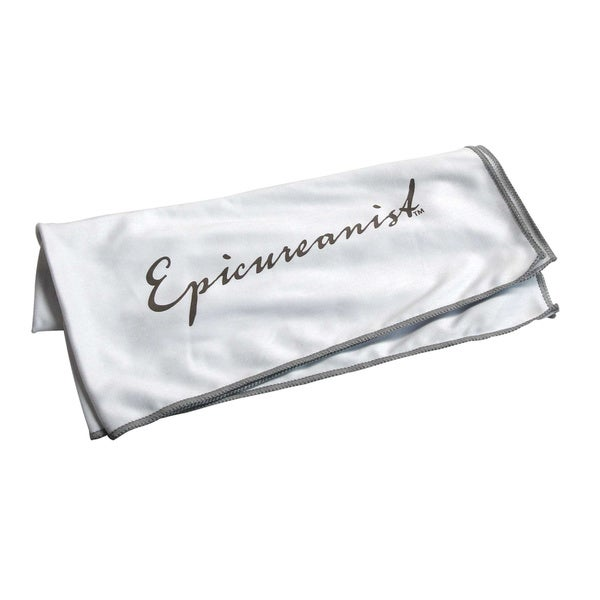 Epicureanist Microfiber Glassware Cloth 6 Pack