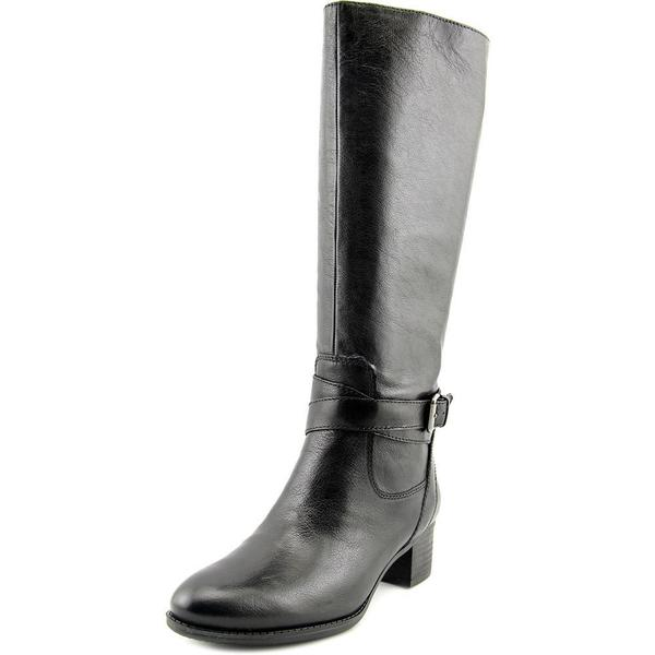 Nine West Women's 'Vani' Black Leather Boots