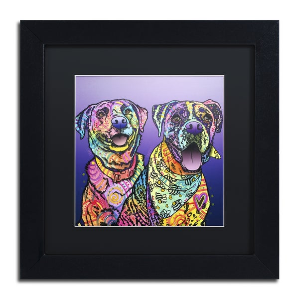 Dean Russo 'Peas In A Pod' Matted Framed Art 21392726