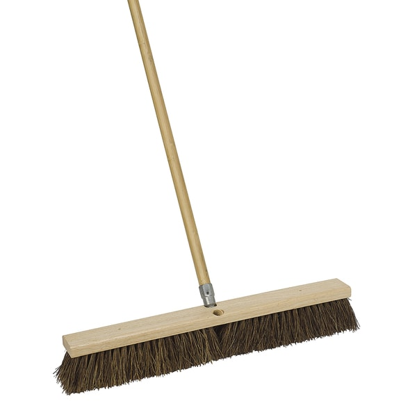 "Harper 1183SC-7 18"" Durable Push Broom 21394622"