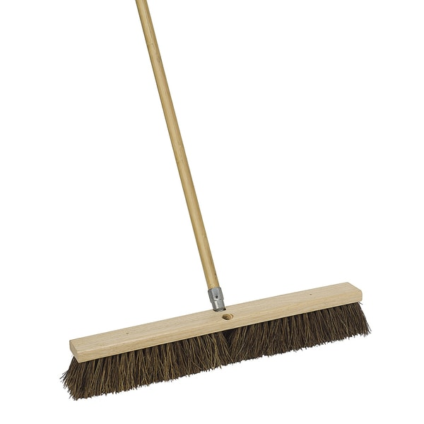 "Harper 1243SC-7 24"" Durable Push Broom 21394624"
