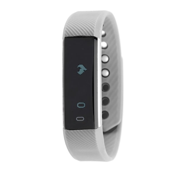 RBX Active TR5 Grey Waterproof Bluetooth Activity Fitness Tracker with Touchscreen