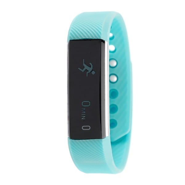 RBX Active TR5 Turquoise Waterproof Bluetooth Activity Fitness Tracker with Touchscreen
