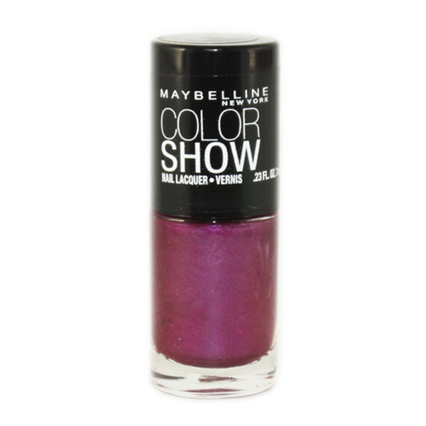 Maybelline Color Show Purple Icon Nail Lacquer