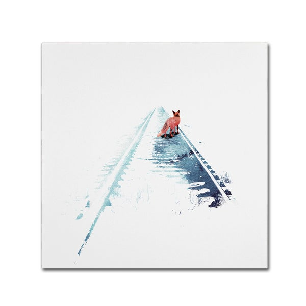 Robert Farkas 'From Nowhere To Nowhere' Canvas Art