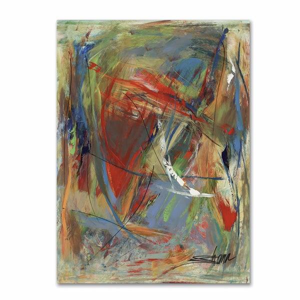 Shana Doumingez 'Toy of a Cosmic Child' Canvas Art 21424176