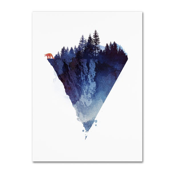 Robert Farkas 'Near To The Edge' Canvas Art