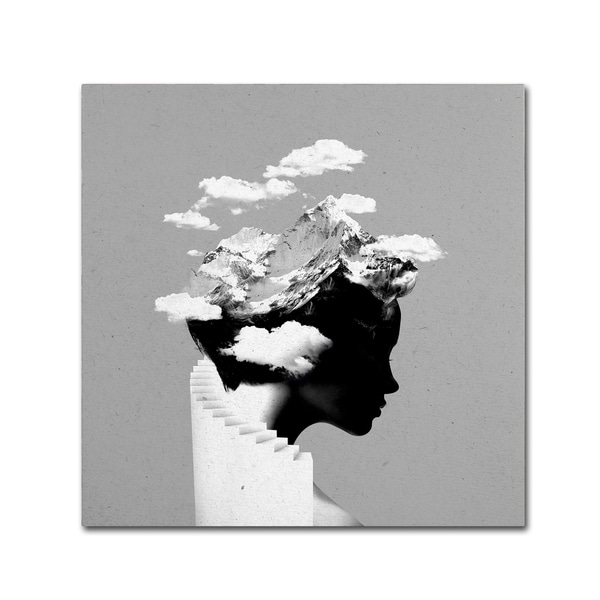 Robert Farkas 'Its A Cloudy Day' Canvas Art