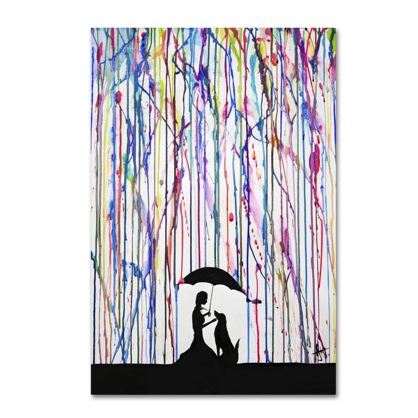 Marc Allante 'Sempre' Canvas Art