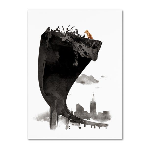 Robert Farkas 'The Last Of Us' Canvas Art