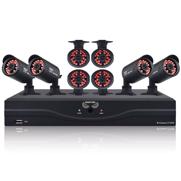 Night Owl Indoor/ Outdoor 8 Camera/ 16 Channel 500 GB HDD Video Security Kit