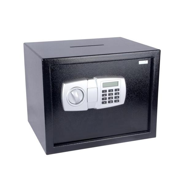 SereneLife SLSFE348 Electronic Safe Box with Mechanical Override and Keys