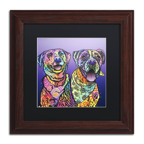 Dean Russo 'Peas In A Pod' Matted Framed Art 21434283