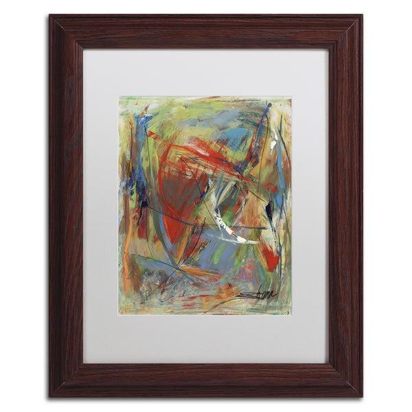 Shana Doumingez 'Toy of a Cosmic Child' Matted Framed Art 21435537