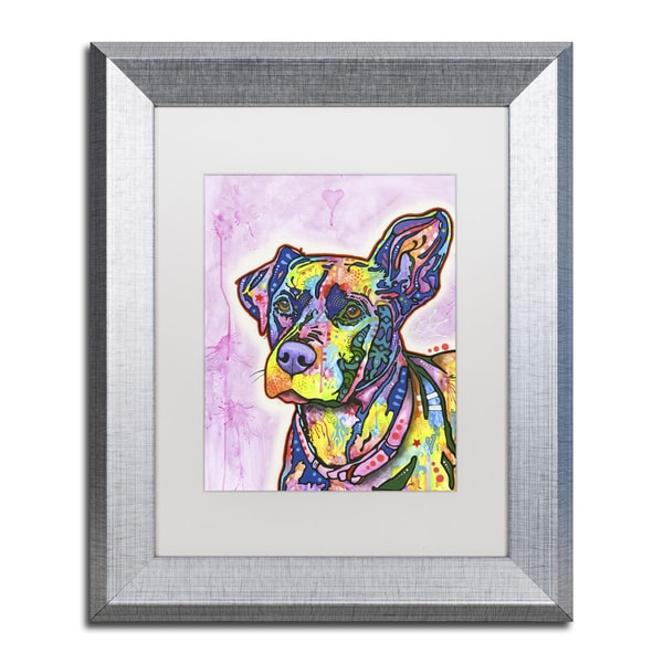 Dean Russo 'Keen' Matted Framed Art 21435668