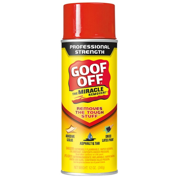 Goof Off FG658 12 Oz Aerosol VOC Goof Off Cleaner