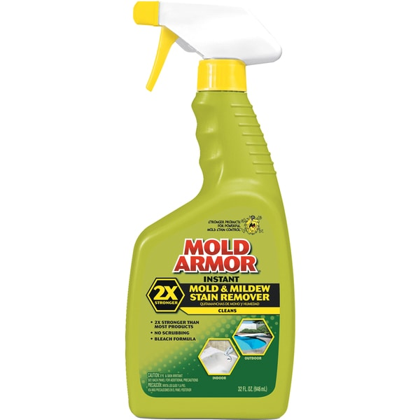 Mold Armor FG502 32 Oz Instant Mold & Mildew Stain Remover