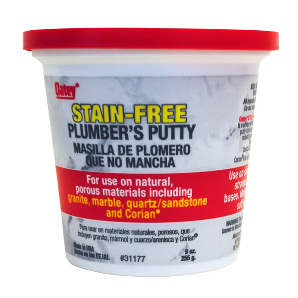 Oatey 31177 9 Oz Stain-Free Plumber's Putty