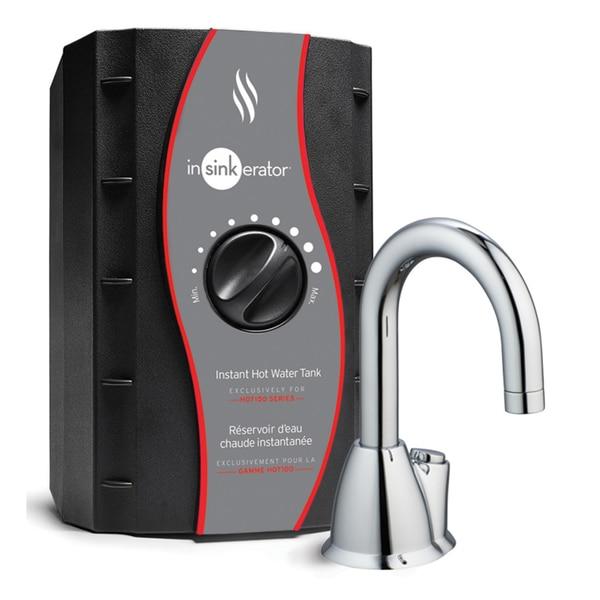 Insinkerator H-HOT100C Stainless Steel Chrome Instant Hot Water Dispenser