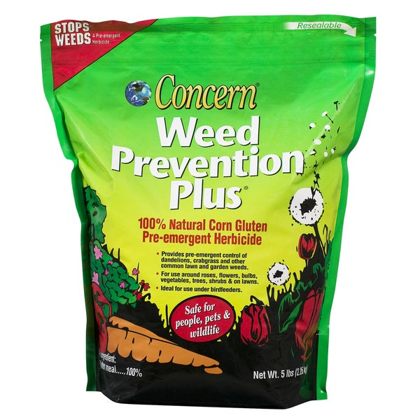 Concern 97181 5 Lb Weed Prevention Plus For Gardens
