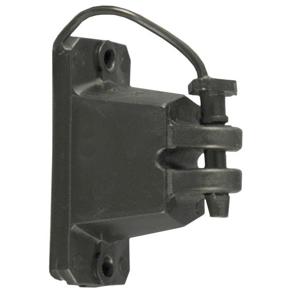 Red Snapr IWPLNB-RS Black Wood Post Pin Lock Insulators 25 Count