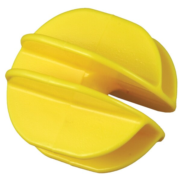 Zareba ICY-RS Yellow Heavy Duty Corner Insulator 10 Count