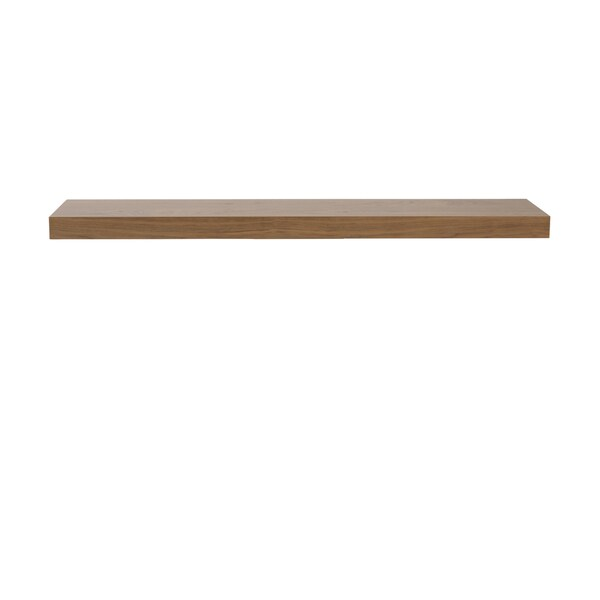 Euro Style Barney American Walnut Veneer 43-inch Shelf