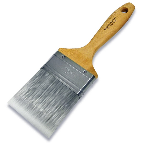 "Wooster 5222-3 3"" Silver Tip Varnish Brush"