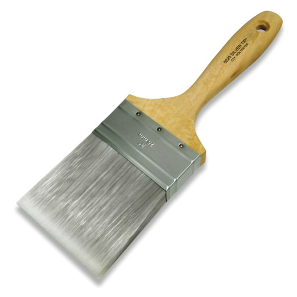 "Wooster 5223-3 3"" Silver Tip Wall Brush"