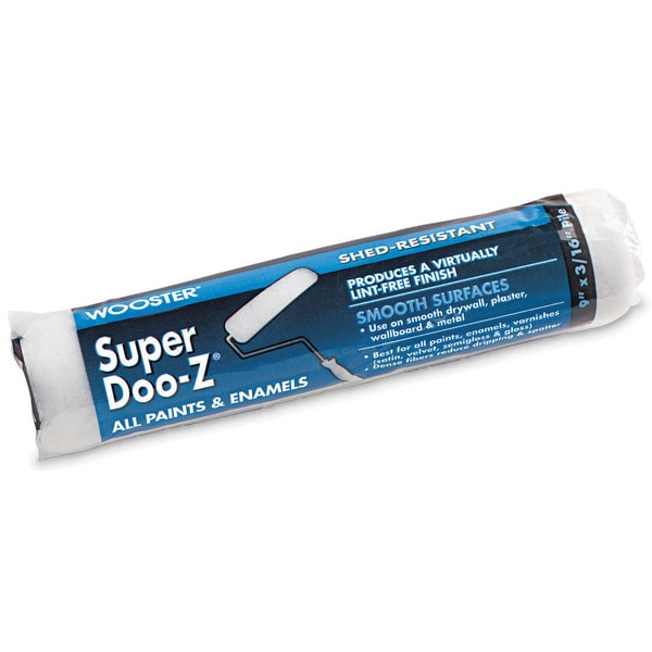 "Wooster R206-9 9"" X 3/16"" Super Doo-Z Paint Rollers"