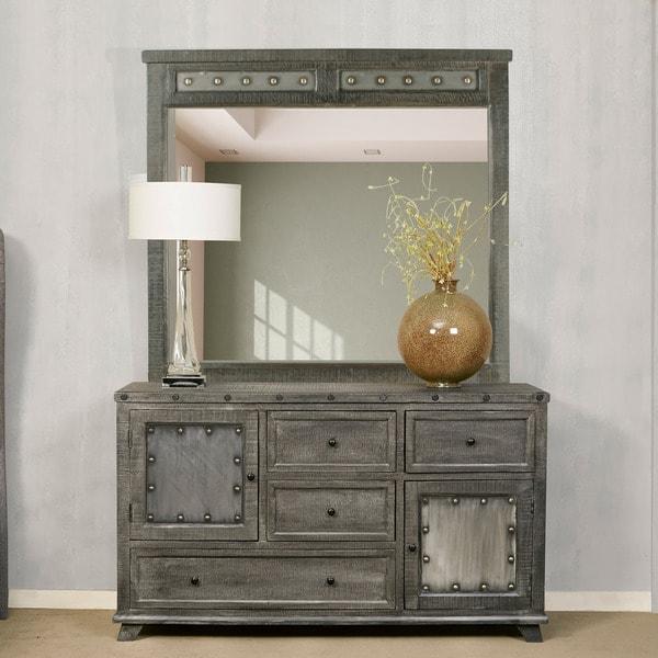 Hillsdale Bolt Dark Graywash Dresser