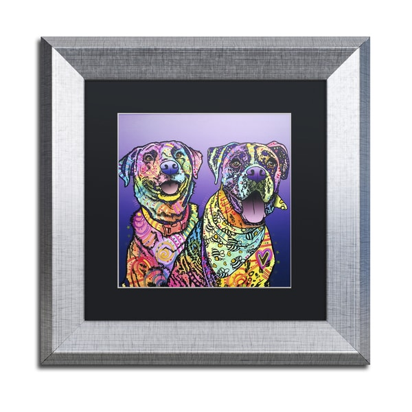 Dean Russo 'Peas In A Pod' Matted Framed Art 21441633