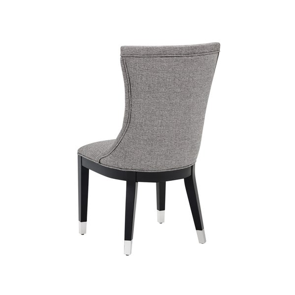 Grey Fabric Dining Chair North Carolina Club Collection