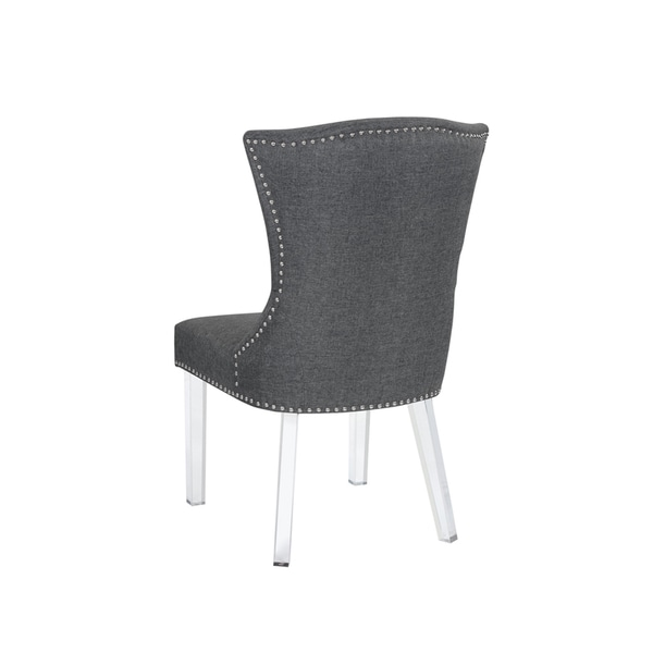 Sienna Grey Fabric Dining Chair