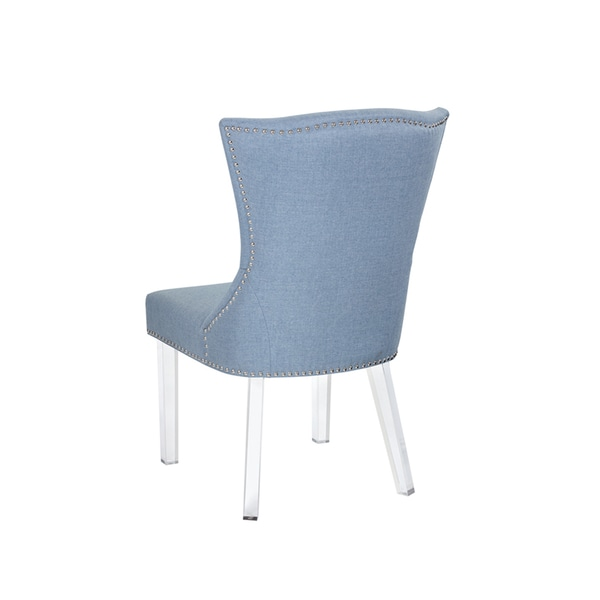 Sienna Ice Blue Fabric Dining Chair