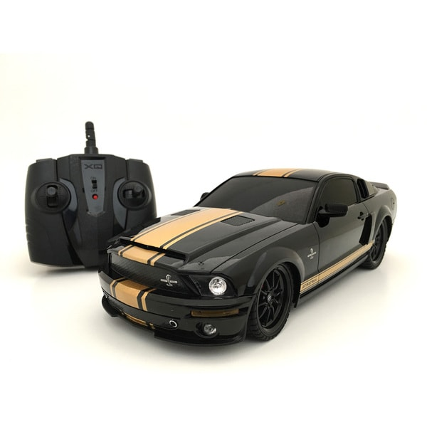 Ford Mustang Shelby GT350 2.4 GHz Remote Control 1:18-scale Multi-channel Black RC Car