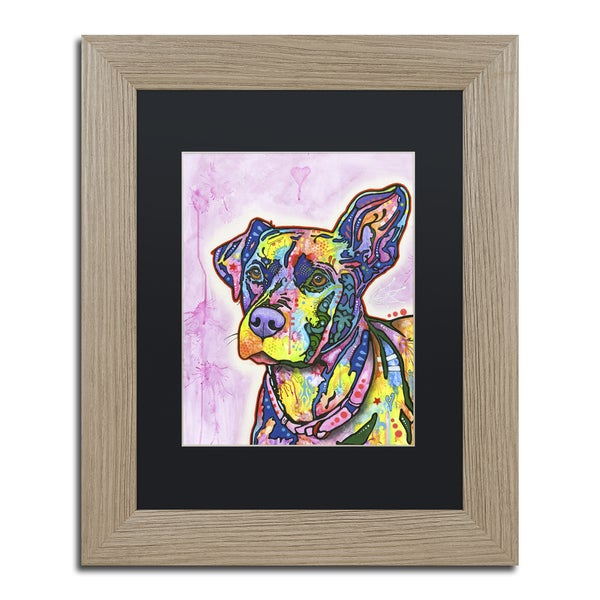Dean Russo 'Keen' Matted Framed Art 21455260