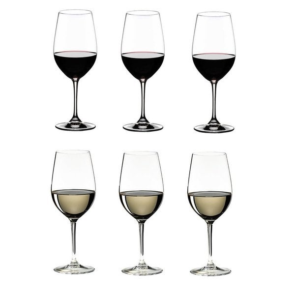 Riedel 260 Years Celebration Vinum Riesling and Zinfandel Glasses (Pack of 6)