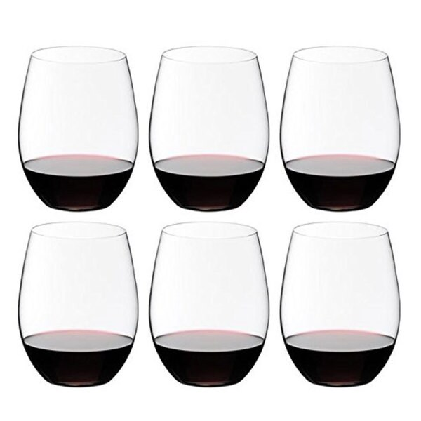 Riedel 260 Years Celebration O Cabernet and Merlot Glasses (Pack of 6)