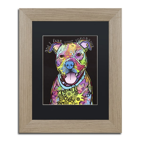 Dean Russo 'I Fear' Matted Framed Art