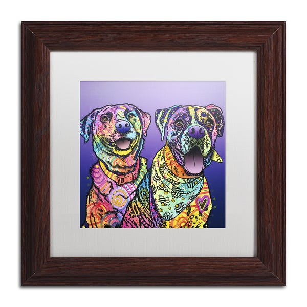 Dean Russo 'Peas In A Pod' Matted Framed Art 21456169